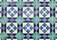 Decorative Tiles (Azulejos) Stock Photos