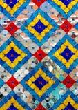Decorative Tiles Ornament. Photo Stock Photo