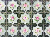 Decorative tiles, Penang, Malaysia Stock Image