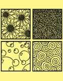 Decorative Tiles Vector Drawing Royalty Free Stock Photo