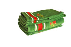 Decorative towels Royalty Free Stock Photography