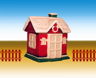 Decorative toy house Royalty Free Stock Photo