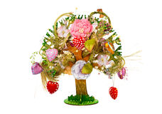 Decorative toy tree Stock Photos