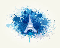 Decorative Travel and Splash Vector. Backround Royalty Free Stock Photo