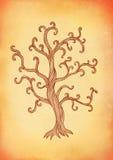 Decorative  tree Stock Images