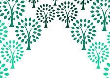 Decorative tree background Royalty Free Stock Image