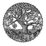 Decorative tree Stock Photography