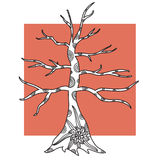 Decorative tree Royalty Free Stock Image