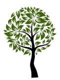 Decorative tree, vector Royalty Free Stock Image