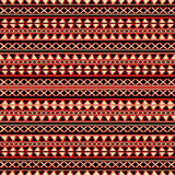 Decorative tribal background. Seamless pattern for textile, website background, book cover, packaging Royalty Free Stock Images