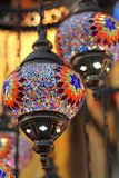 Decorative Turkish Lanterns Royalty Free Stock Photography
