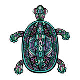 Decorative Turtle Royalty Free Stock Images