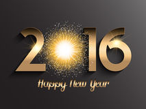 Decorative typography background for New Year. Decorative typography background for the New Year Stock Images