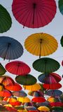 Decorative umbrellas Stock Photos