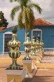 Decorative urns Stock Images