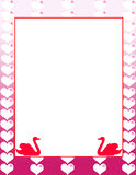 Decorative valentine day background Royalty Free Stock Photos
