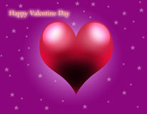Decorative valentine day background Royalty Free Stock Image