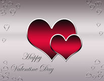 Decorative valentine daycard Royalty Free Stock Photography