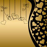 Decorative  valentine heart Royalty Free Stock Images