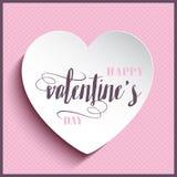 Decorative Valentine's day background Royalty Free Stock Photography