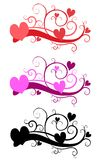 Decorative Valentine's Day Clip Art Stock Photos