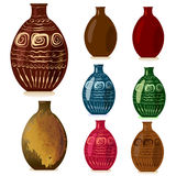 Decorative vases Stock Photos