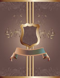 Decorative Vector Background Royalty Free Stock Photography