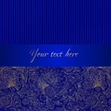 Decorative vector background Royalty Free Stock Photos