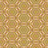 Decorative vector background tile in art deco style in fine nostalgic colors Stock Images