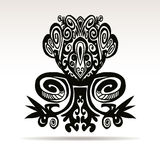 Decorative vector design element. Royalty Free Stock Images