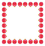 Decorative vector frame Royalty Free Stock Images