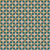 Decorative vector multicolour background - abstract floral pattern Stock Photo