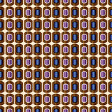 Decorative vector multicolour background - abstract pattern Royalty Free Stock Photo