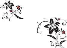 Decorative  vector ornament Royalty Free Stock Photography