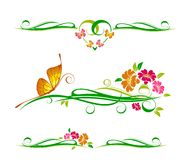 Decorative vector ornament Stock Images