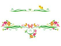 Decorative vector ornament Royalty Free Stock Images