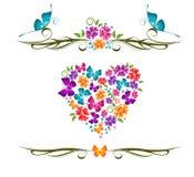 Decorative vector ornament Stock Image