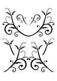 Decorative vector ornaments Royalty Free Stock Image