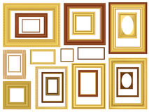 Decorative Vector Picture Frames Stock Photos