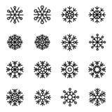 Decorative vector Snowflakes set Royalty Free Stock Photography