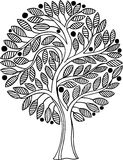 Decorative vector tree Stock Photo
