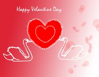 Decorative velantine day background Stock Images