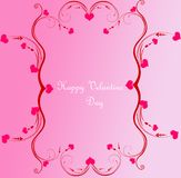Decorative velantine day background Royalty Free Stock Photo