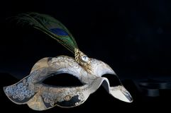 Decorative venetian mask Stock Photos
