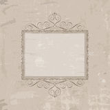 Decorative vintage background Royalty Free Stock Images