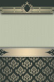 Decorative vintage background or cover-book design. Stock Photos