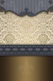 Decorative vintage background with elegant border. Royalty Free Stock Photography
