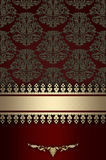 Decorative vintage background. stock image