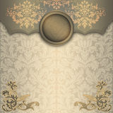 Decorative vintage background. Stock Photo