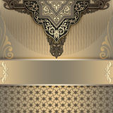 Decorative vintage background. royalty free stock photo